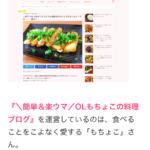 【雑記】おにぎりのお供「カクテキキムチ」/レシピ記事が紹介されました!(ナースときどき女子)
